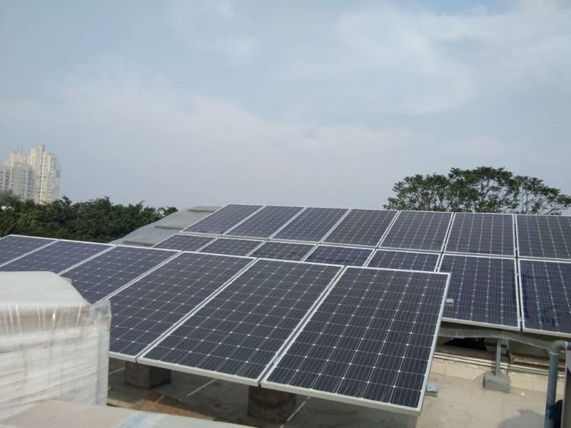 10 KW plant at Niravana Country
